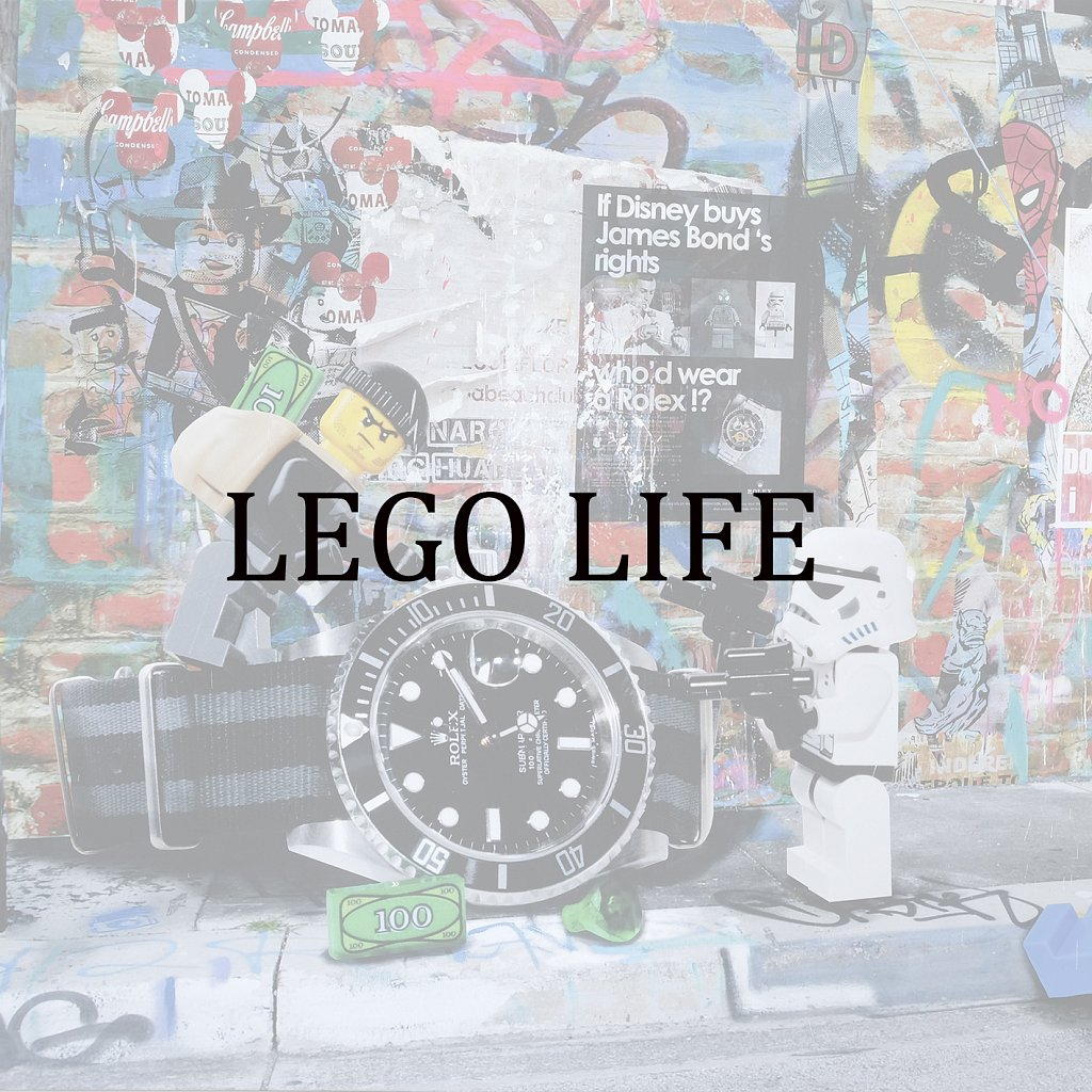 Lego Life in Pop